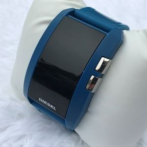 Diesel Men Watch Sport Digital Wrist Watch Blue Ru